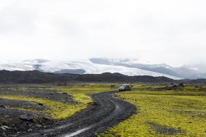 Mit dem TEROCK 45 Tage in Island.